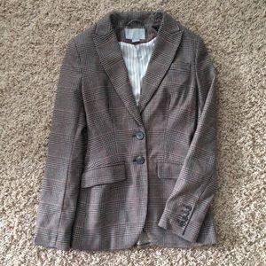 H&M Tweed Blazer Size 2 Tapered Waist